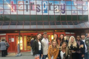 Students go to watch Hairspray
