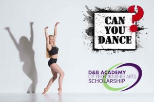 Can You Dance Scholarship!