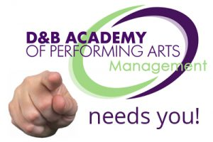 D&B Management auditions for representation Musical Theatre