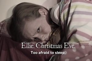Valerie Bolt in NSPCC Christmas Campaign