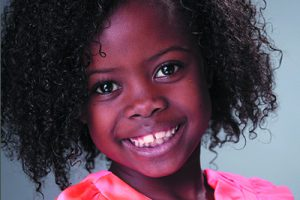 Ynez Williams appearing in a commercial for Danone