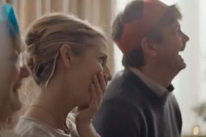 Emily Bolt in the Samsung Christmas Advert!