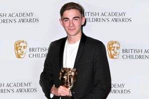Nick James wins a Bafta!
