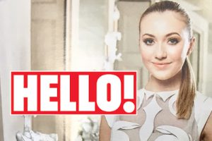 Tilly Keeper in Hello! Magazine