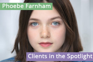 Clients in the Spotlight: Phoebe Farnham