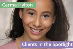 Clients in the Spotlight: Carma Hylton