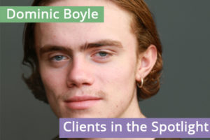 Clients in the Spotlight: Dominic Boyle