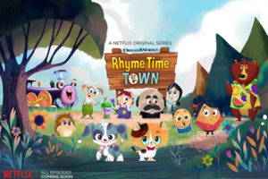 Animation series 'Rhyme Time Town' airs on Netflix, featuring Luke!