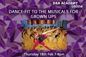 Dance-Fit to the Musicals for Grown-Ups
