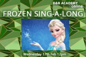 Frozen Sing-A-Long Workshop