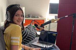 Phoebe Farnham records for Netflix Series